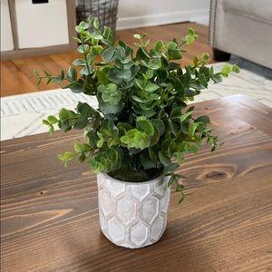 Faux Eucalyptus Plant Home Decor